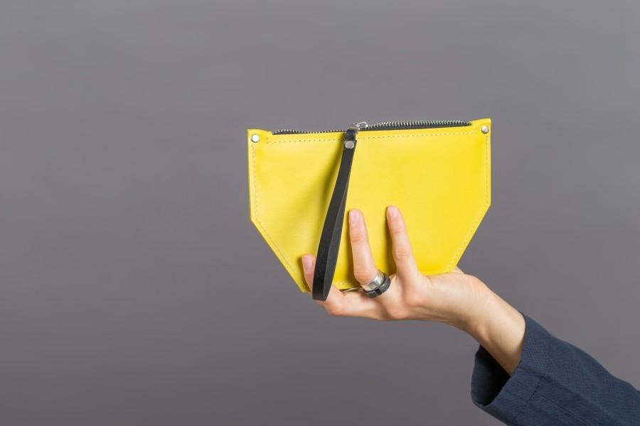 EVELINE wallet ||yellow+yellow